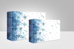Pudełko-klejone-+-pokrywa-Śnieżynki